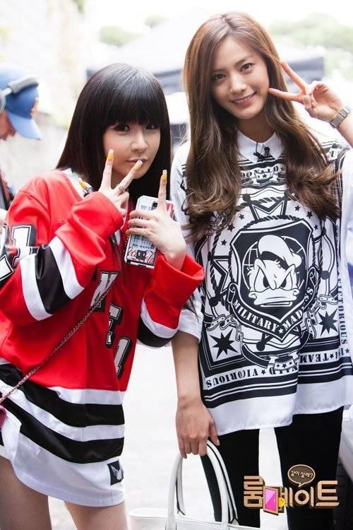 ASK K-POP [ASKKPOP] Park Bom and Nana are best friends in ...