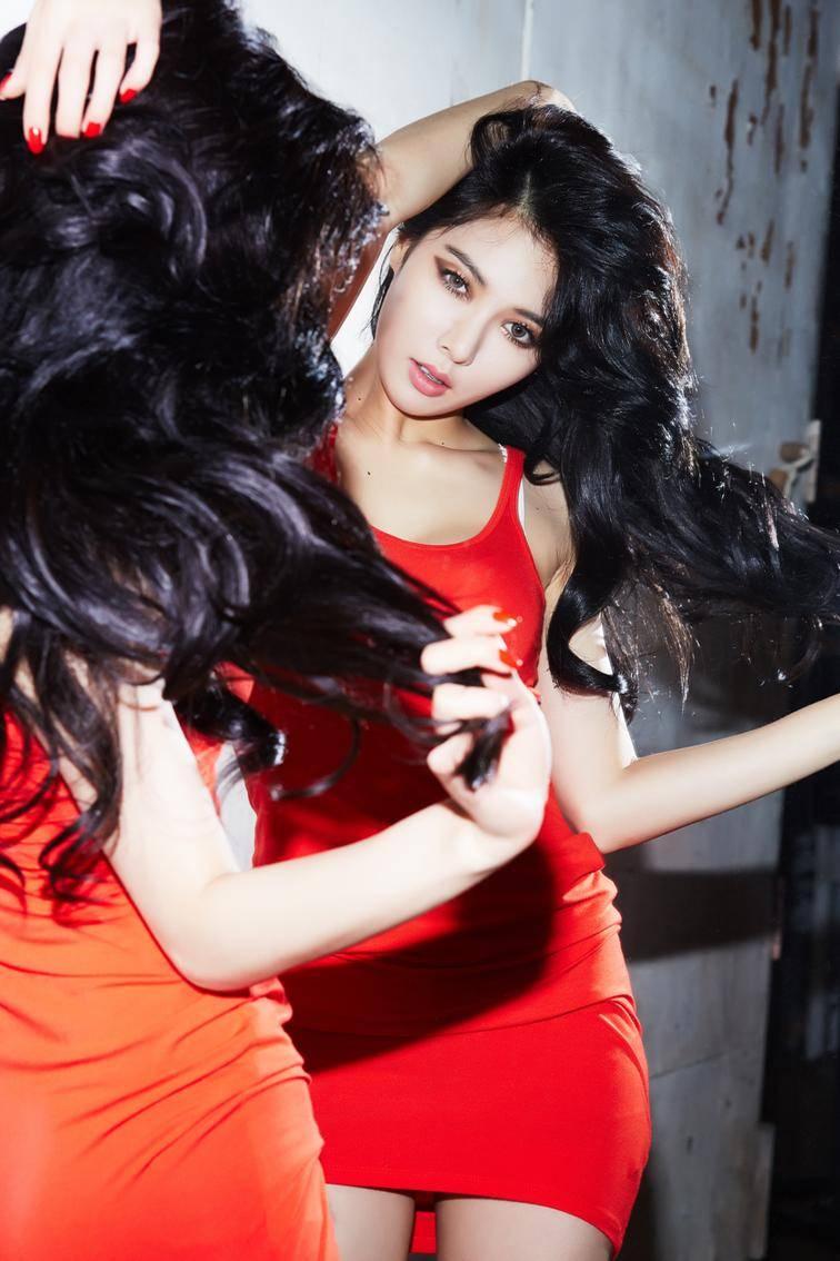 ask kpop askkpop hyuna is a fiery vixen in red teaser